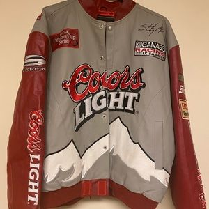 Genuine leather jacket, New